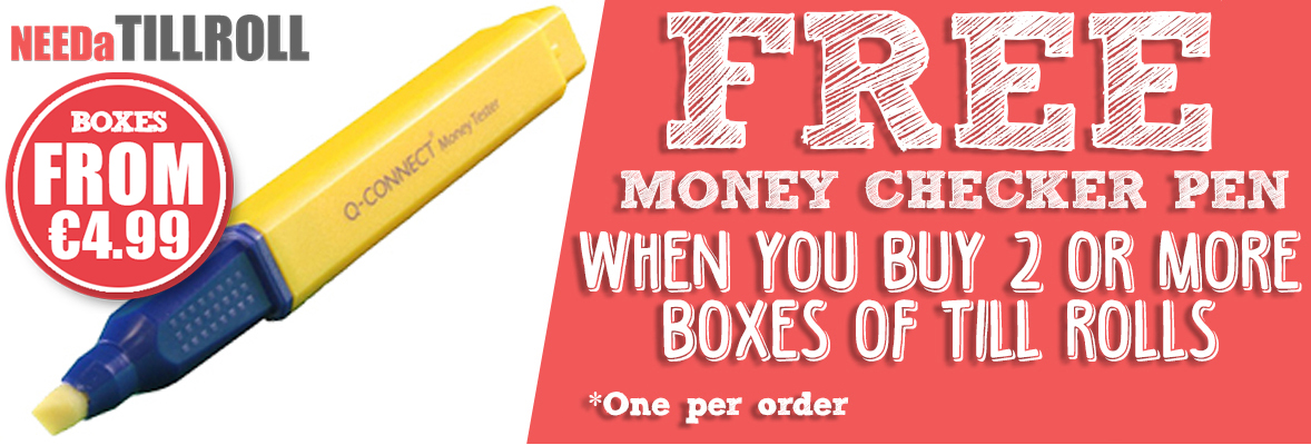 Needa Free Money Checker Pen - Office Supplies Online