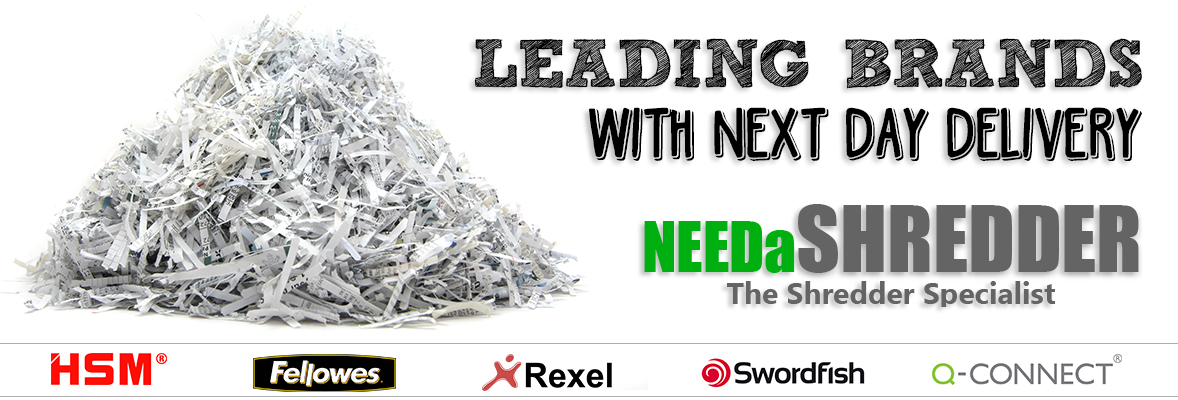 Needa Shredder Banner - Office Supplies Online