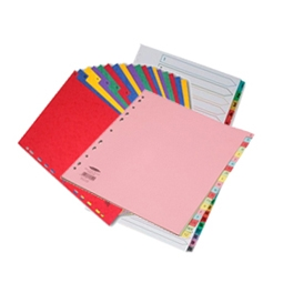 File Index & Dividers