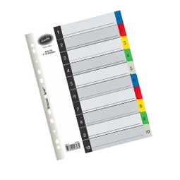 Printed File Dividers