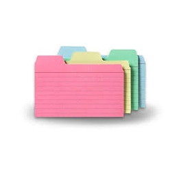 Card Index Dividers
