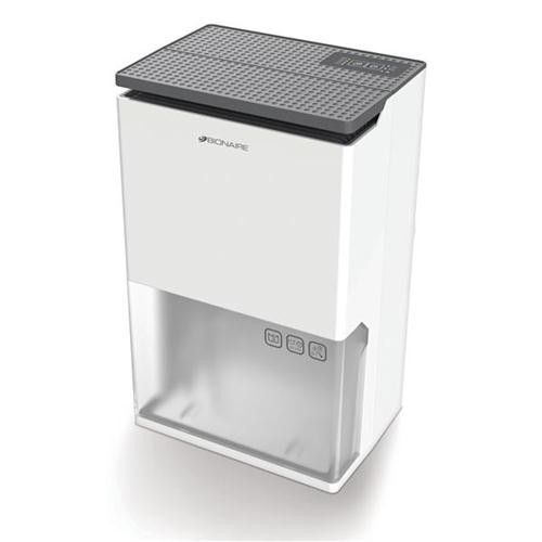 Dehumidifier 3 Litre Tank Extracts 12 Litres Daily 3 Speed Settings Touch Control Panel