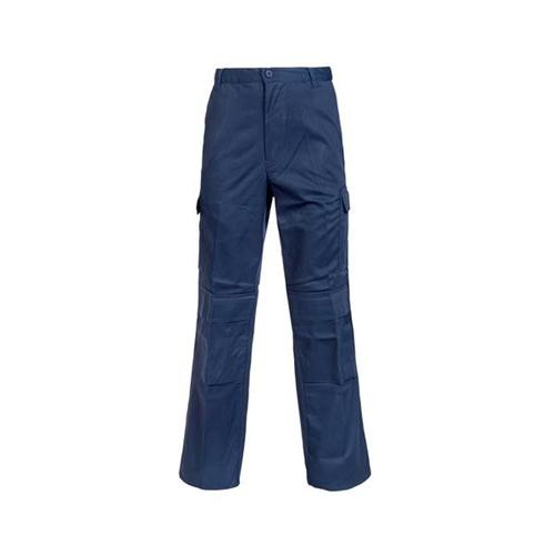 Combat Trousers Polycotton with Pockets 34in Regular Navy Blue Ref PCTHWN34