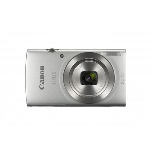Canon IXUS 185 Camera Kit 20MP 16x Zoom Plus Full HD Movies Case & 32GB SD Card Silver Ref CAN2969