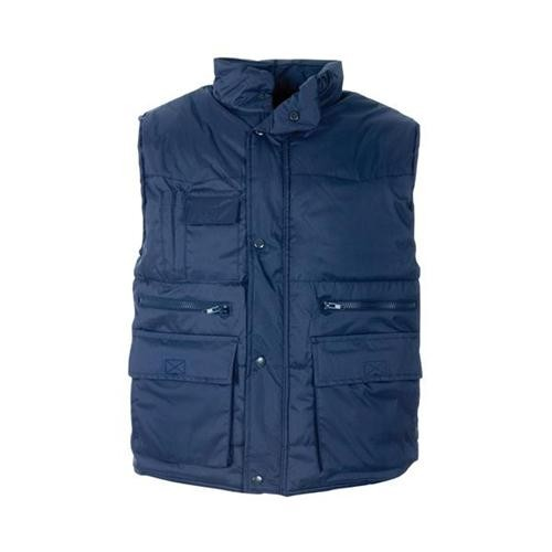 Body Warmer Polyester with Padding & Multi Pockets 2XL Navy Ref HBNXXL