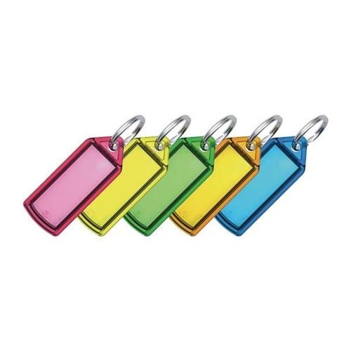 Helix Assorted Small Sliding Key Fobs PACK OF 100 F32060