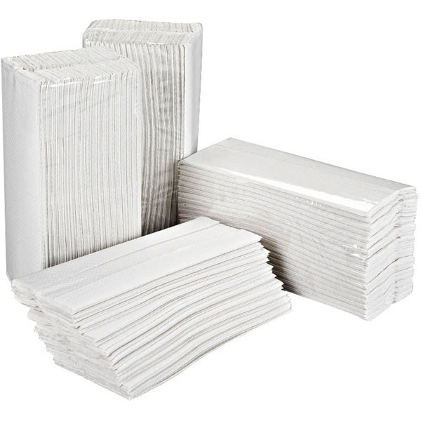 2Work C-Fold 2-Ply White Hand Towel Pack Of 157 HT3000 - Paper Hand Towels