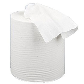 2Work 150 Metre White 2-PLY Centre Feed Roll Pack Of 6 C2W150