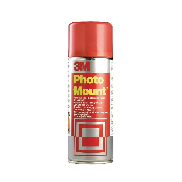 3M Photomount Aerosol Adhesive 400ml PHMOUNT - Spray Adhesive