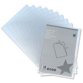 5 Star Clear A4 Premier Folders - Cut Flush Folders