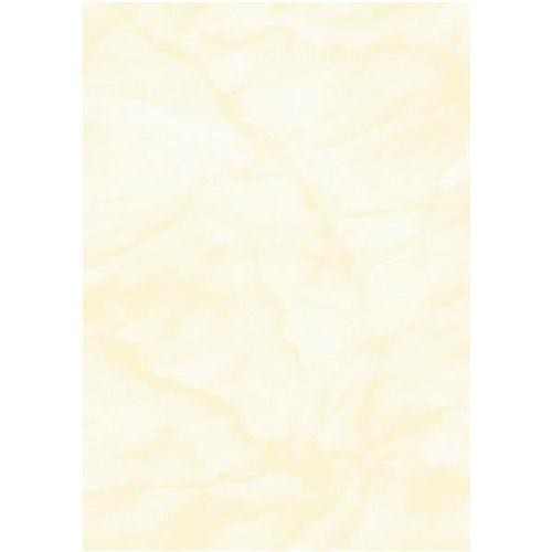 Computer Craft Marble Paper A4 90GSM Pack Of 100 Yellow CCL1010 - Certificate Paper