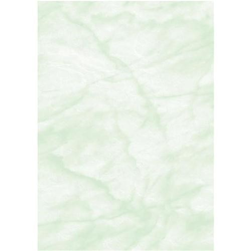 Computer Craft Marble Paper A4 90GSM Pack Of 100 Green CCL1000 - Certificate Paper