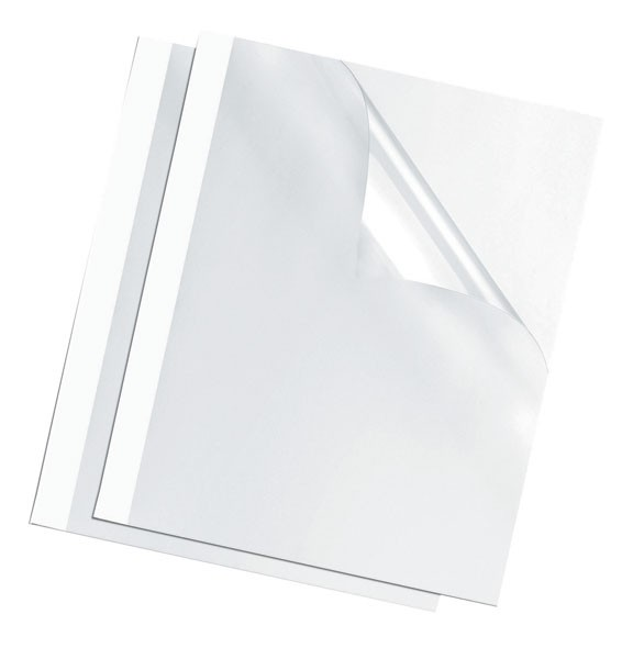 Fellowes White Thermal Binding Covers 3mm (Pack Of 100) 53152
