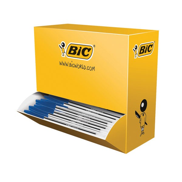 Bic Cristal Blue Medium Ballpoint Pen Value Pack 896039 - Biro