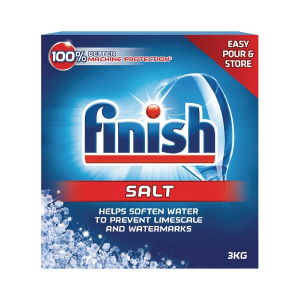 Finish Dishwasher Salt 2KG N04130 - Dishwasher Supplies