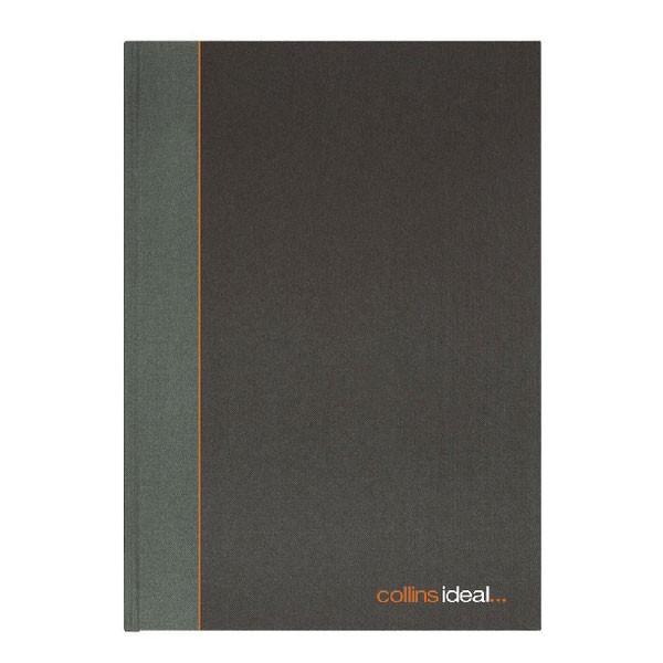 Collins Ideal 192 Page A4 Ruled Feint Book 6428R