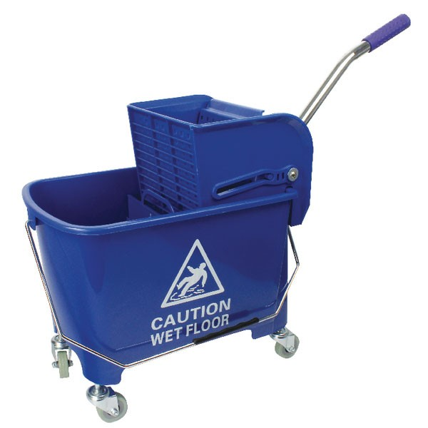 Contico Blue Combo Mopping Unit KS15BL - Cleaning Buckets