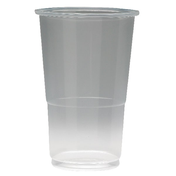 Plastic Half Pint Glass - Office Glasses