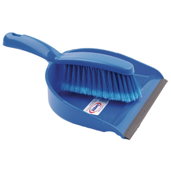 Bentley Blue Dustpan And Brush Set 8011/B