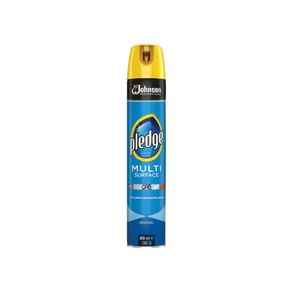 Pledge 400ml Multi-Surface Cleaner 7511522 - Furniture Cleaning Supplies