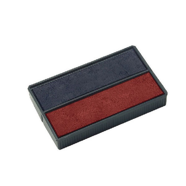 Colop E/4850 Blue/Red Replacement Pads E4850 PACK OF 2 - Stamp Pads