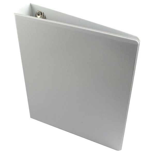 Esselte 40mm White A4 4D-Ring Presentation Binders 49704