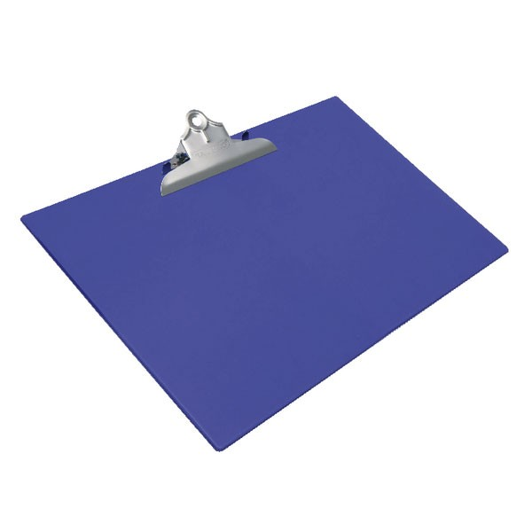Rapesco Heavy Duty Blue A3 Clipboard 1136 - Plastic Clipboards