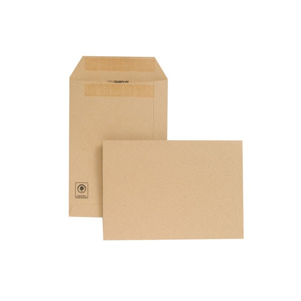 New Guardian Self-Seal C5 Manilla Envelopes 229x162mm 130gsm D26103 - C5 Envelopes