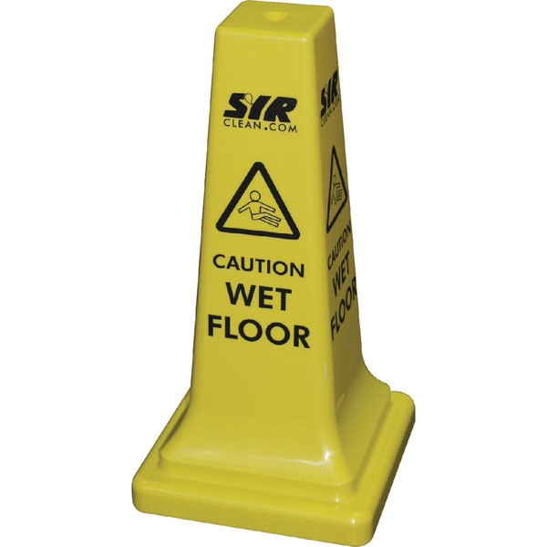 JSP Caution Slippery Surface 50cm Cone JAR0440-000-254 - Safety Signs Workplace