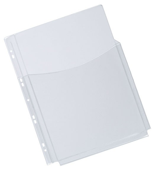 Q-Connect 3/4 Cover A4 Expanding Punched Pockets KF00139