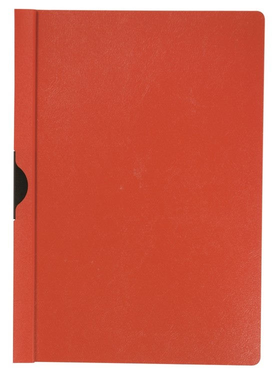 Q-Connect Red 6mm Quickclip A4 Files KF00467 - Folder File