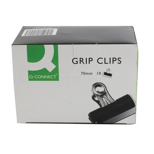 Q-Connect 70mm Grip Clips KF01290 - Grip Clips