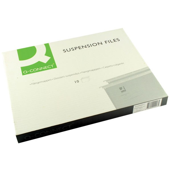 Q-Connect A4 Tabbed Suspension Files KF21017 - A4 Suspension & Lateral Files