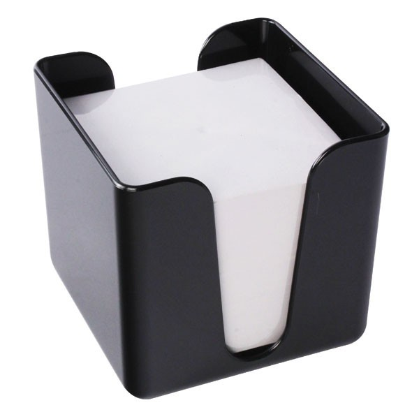 Q-Connect Black Memo/Jot Box KF21676 - Memo Cubes