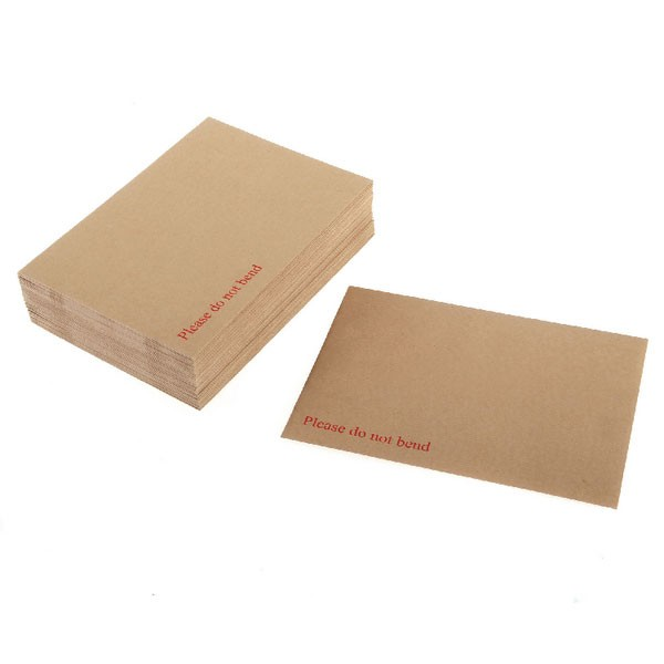 Board-Back Peel And Seal Manilla Envelopes 444x368mm P/S - Board Back Envelopes