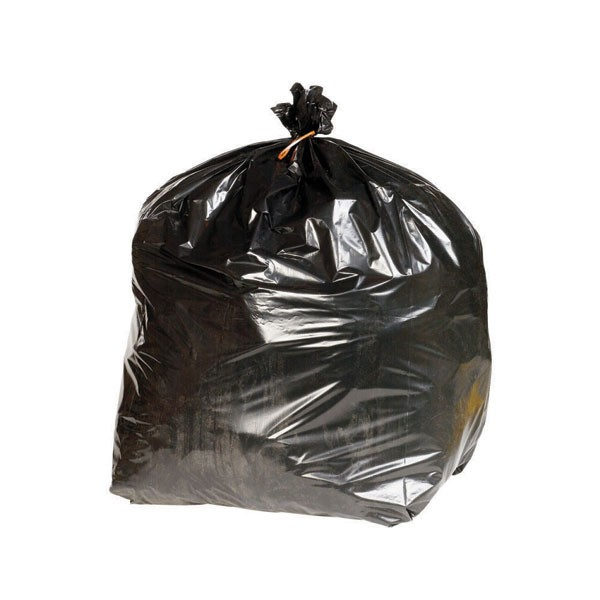 Q-Connect Heavy Duty Black Refuse Sacks KF73376 - Bin Bags