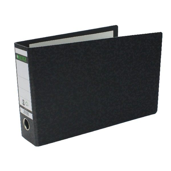 Leitz Black Oblong A4 Board Lever Arch Files - A4 Lever Arch Files Folders
