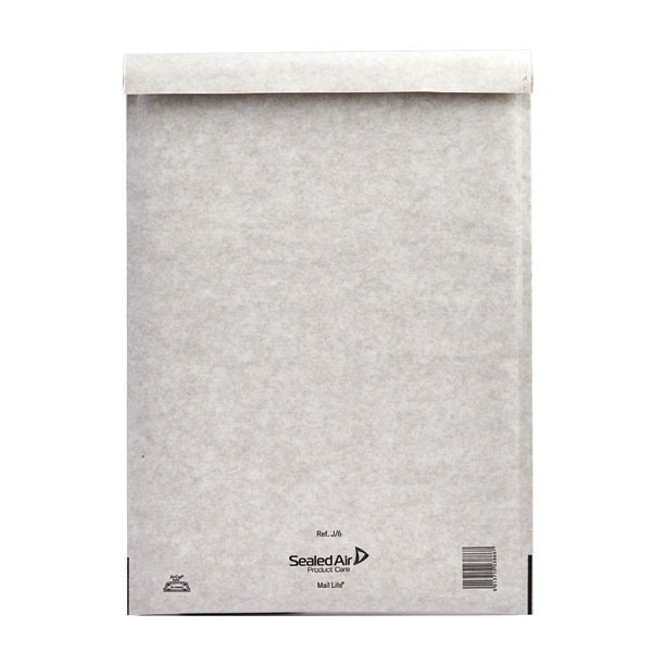 Mail Lite White Self Seal Bubble Lined Postal Bag 300x440mm MLW J/6 - Padded Envelopes Ireland