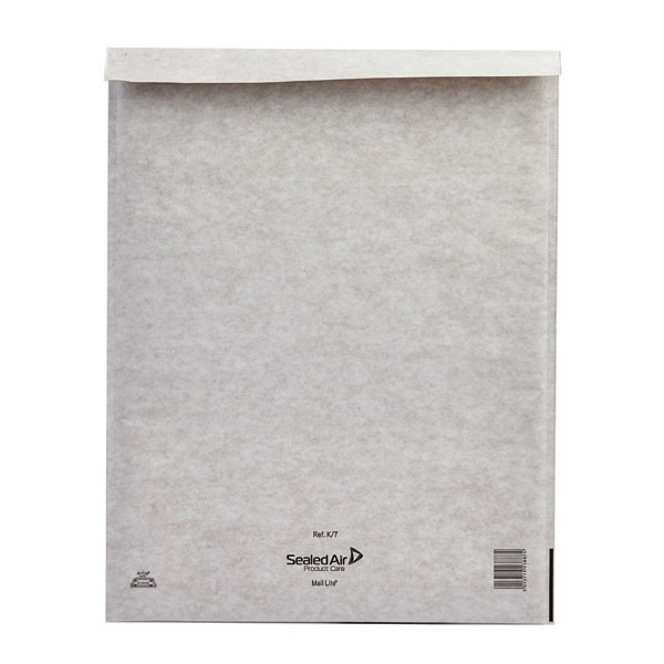 Mail Lite White Self Seal Bubble Lined Postal Bag 350x470mm MLW K/7 - Padded Envelopes Ireland