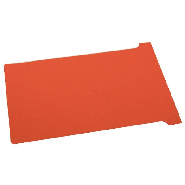 Nobo Red A110 Size 4 T-Cards (Pack of 100) 32938928