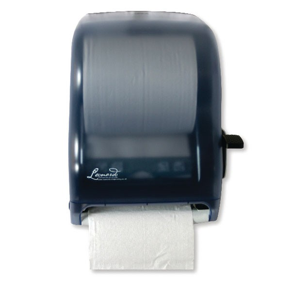 Leonardo Lever Control Hand Towel Roll Dispenser Blue DSRA12