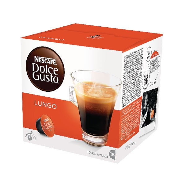 Nescafe Dolce Gusto Cafe Lungo 3x16 Capsules - Coffee pods