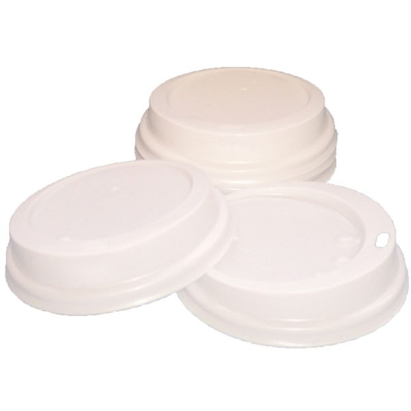 Robinson Young Caterpack 25Cl White Paper Cup Sip Lids - Office Coffee Mugs Cups