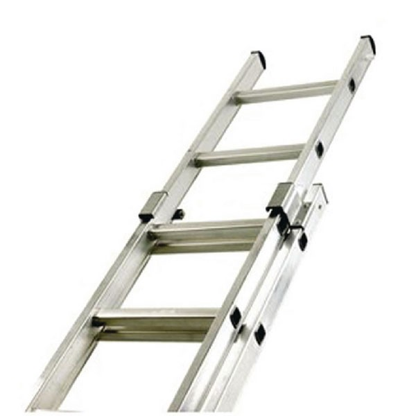 Two Section Push-Up Aluminium Ladder 24-Rung 323143 - Single & Two Section Ladder