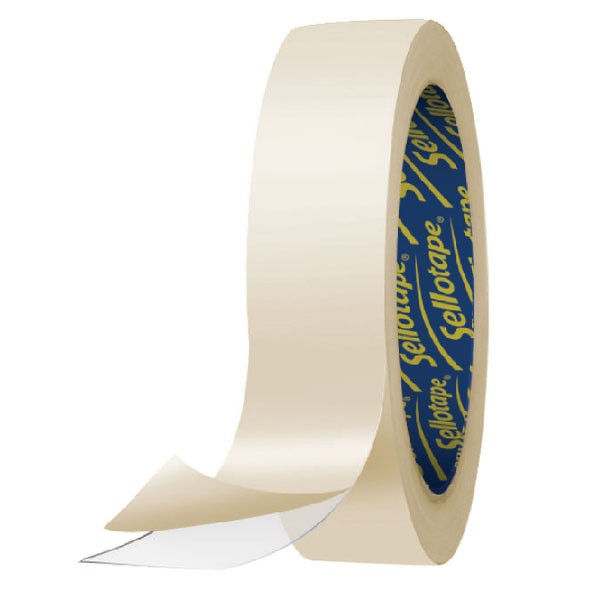 Sellotape Double-Sided Tape 50mm x 33 Metres 2294 503886 - Double Sided Tape