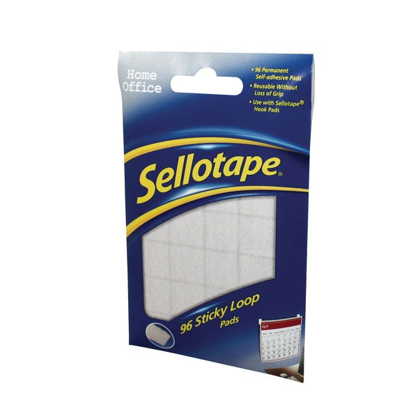 Sellotape Sticky Loop Pads (Pack of 96) 1445184