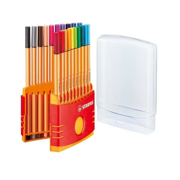 Stabilo Point 88 Assorted Colorparade Fineliner Pens SS35713