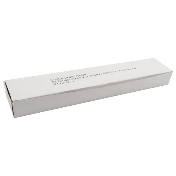 Budget 300mm Clear Ruler WX01107 - Scale Ruler