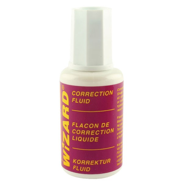 Budget 20ml Correction Fluid WX10507 - Correction Fluids