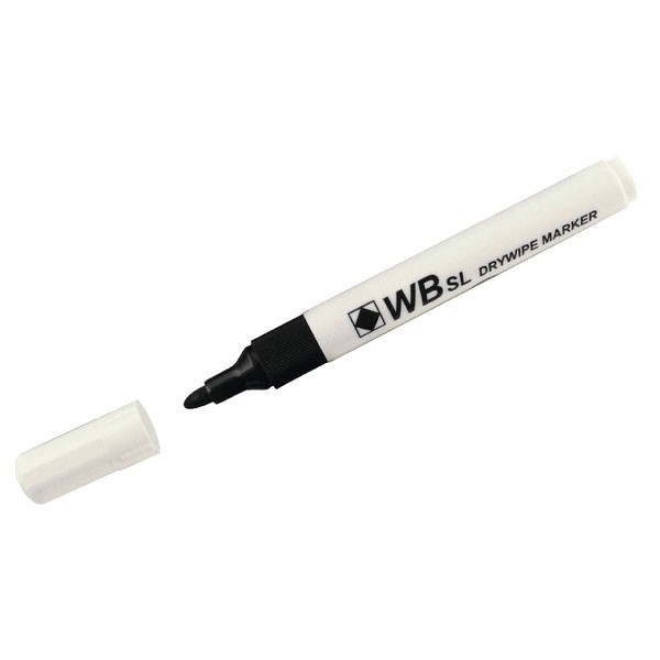 Whiteboard Assorted Bullet Tip markers WX98005 - Drywipe Markers